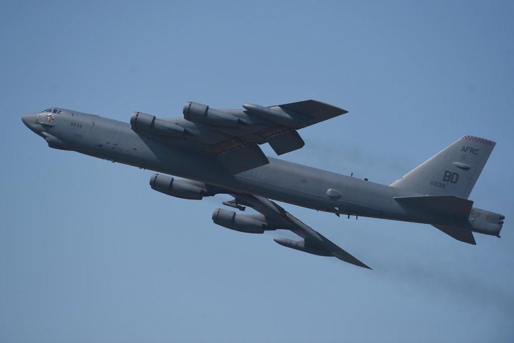 Americký bombardér B-52 Stratofortress (Zdroj: čtk)