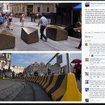 Bezpečnostní zábrany v New Yorku a v Praze