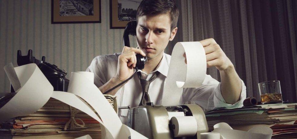 Daňový poradce, ilustrační foto