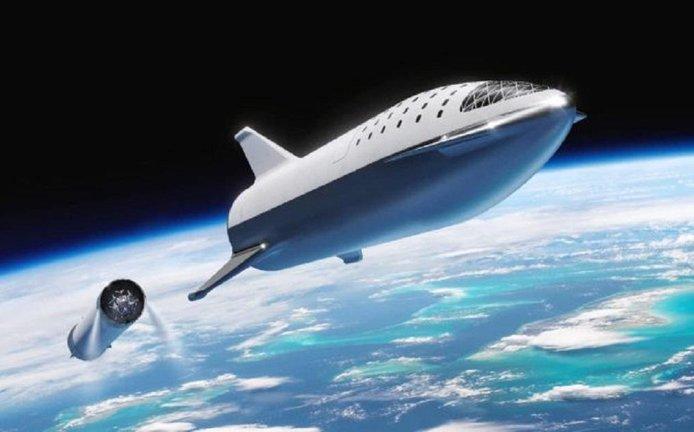 Vesmírná loď společnosti SpaceX