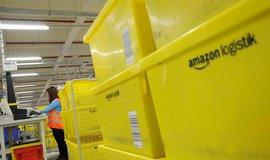 Sklad Amazonu v německém Grabenu