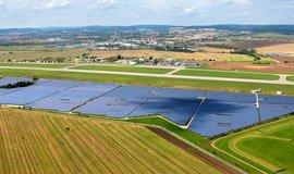 Solární elektrárna Photon Energy, ilustrační foto