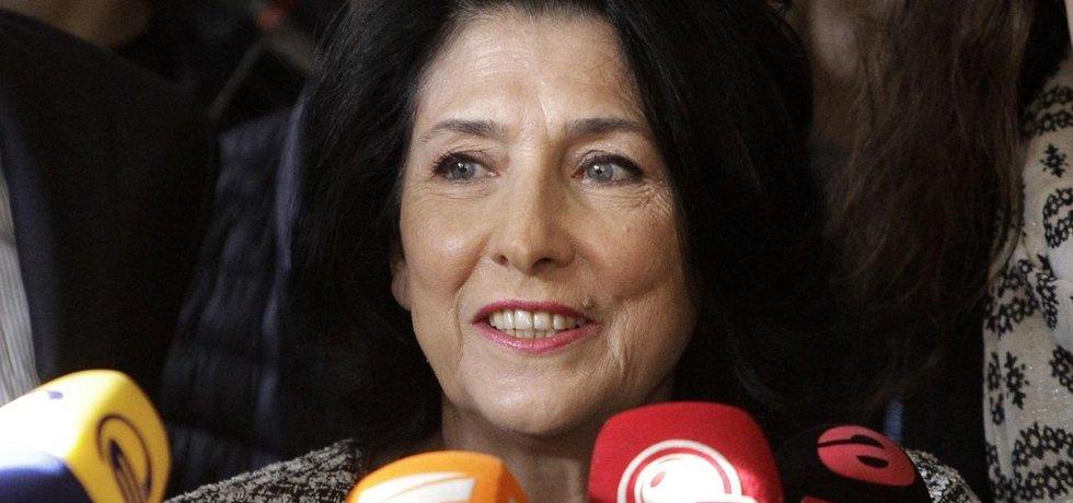 Salome Zurabišviliová vyhrála prezidentské volby v Gruzii