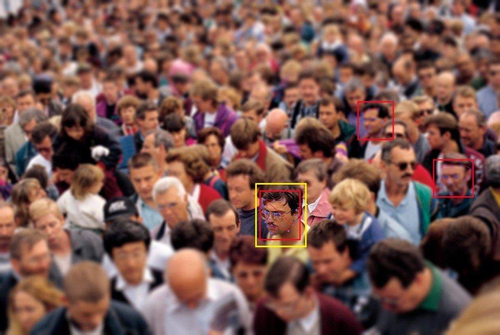 Rozpoznávání obličeje, ilustrační foto