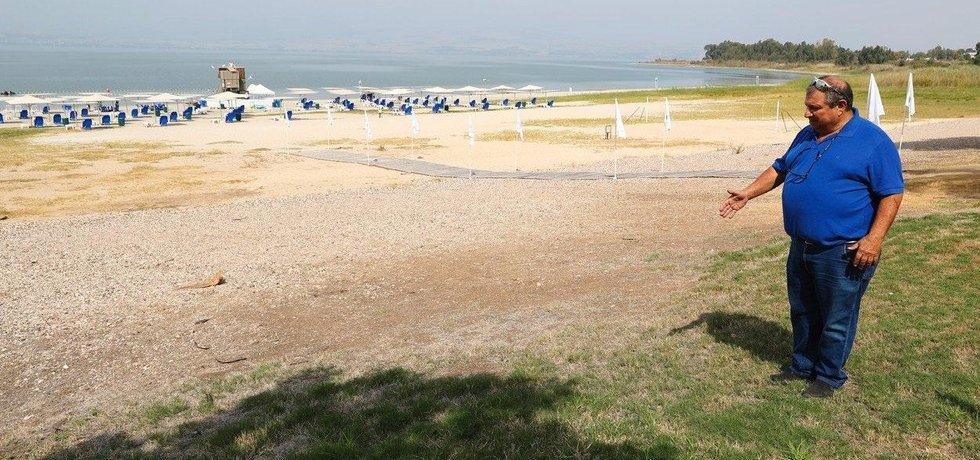 Voda v Galilejském jezeře rychle ubývá. Ilustrační foto.
