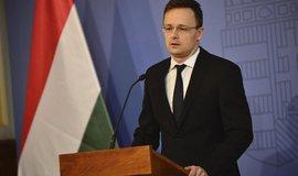 Maďarský ministr zahraničí Péter Szijjártó