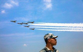 Čínské letectvo, ilustrační foto
