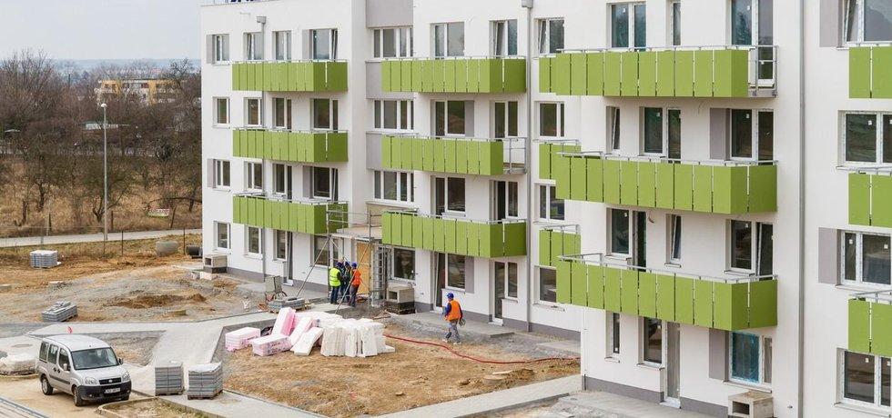 Výstavba nových bytů v Praze