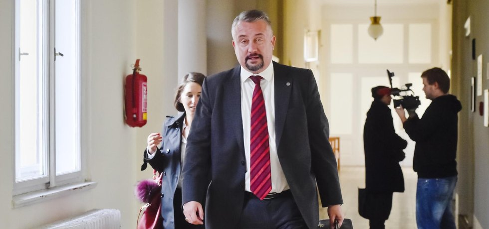 Právní zástupce Pražského hradu Marek Nespala