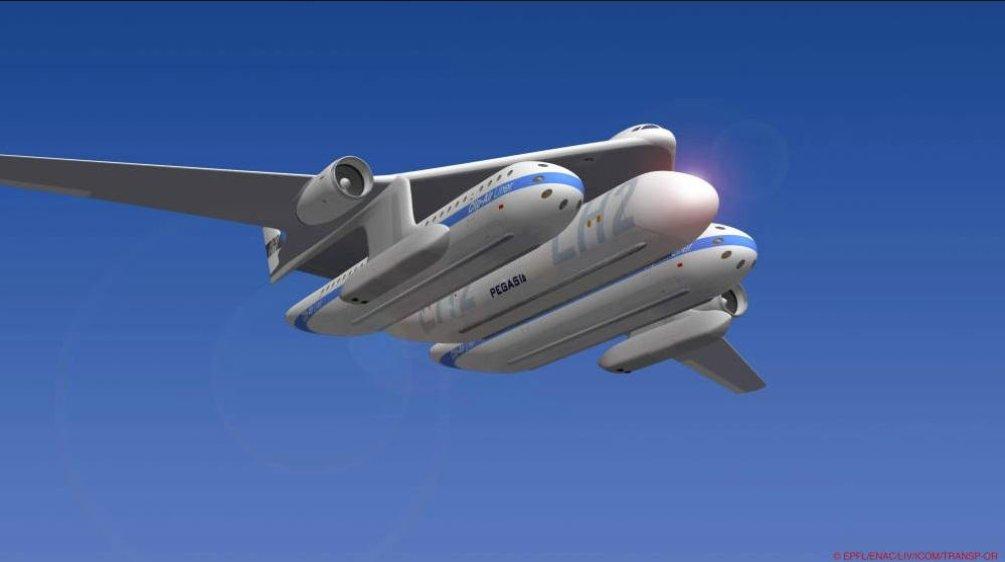 Koncept Clip-Air ze švýcarského technologického institutu v Lausanne.