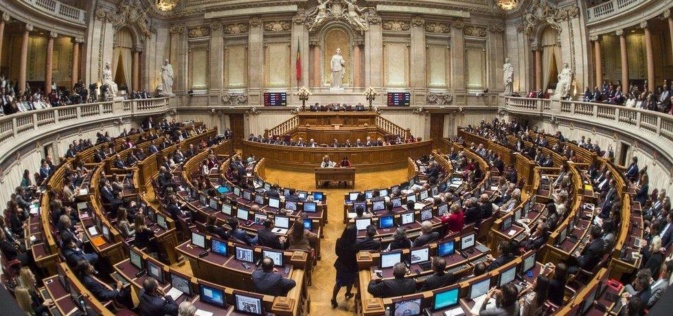 Portugalský parlament, ilustrační foto
