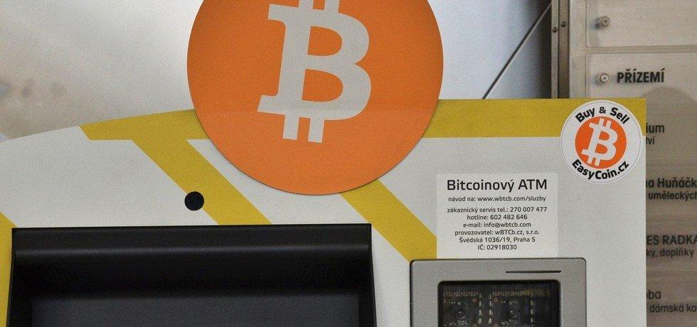 Bitcoinový ATM, ilustrační foto