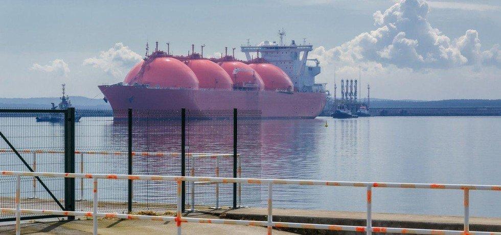 LNG tanker, ilustrační foto