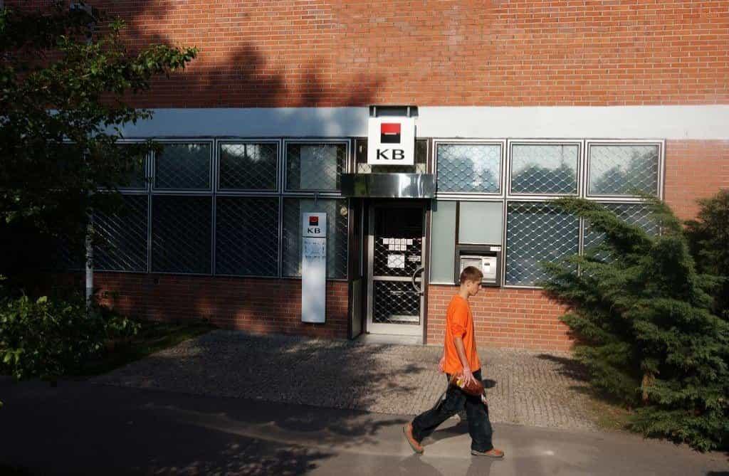 Zavřená pobočka Komerční banky