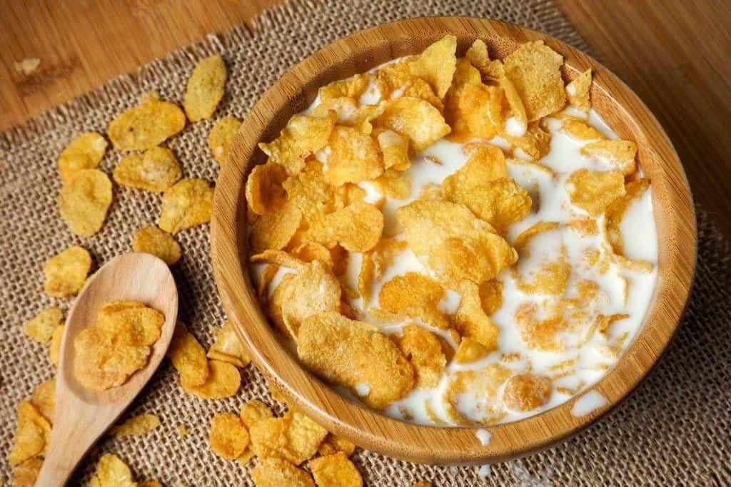 Kukuřičné lupínky: Bratři Kellogové se jednoho dne v roce 1894 pokoušeli vyrobit granolu, ale omylem nechali pšenici vyschnout. I tak ji dali upéct. Omylem tak vytvořili první porci křupavých vloček. Po obdržení patentu začali s masovou produkcí oblíbené snídaně z kukuřice a v roce 1910 vydělali první milion.