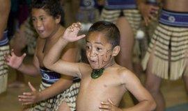 Maorské děti, ilustrační foto