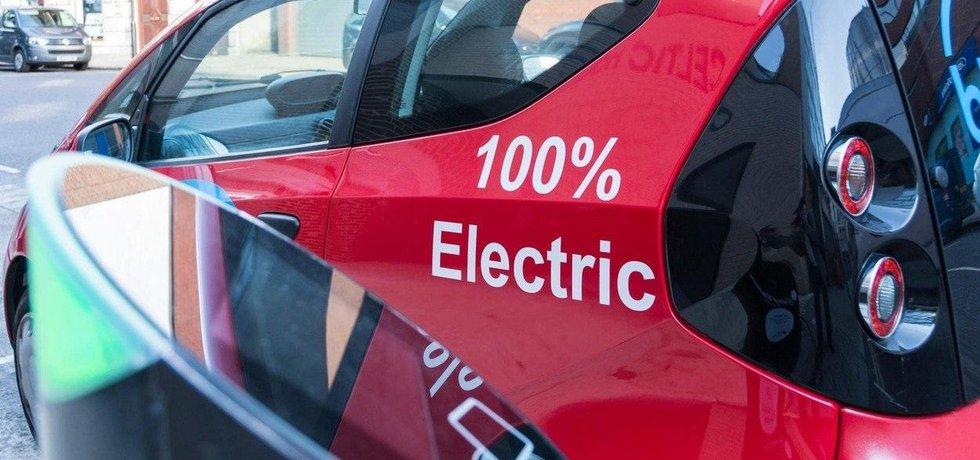 Elektromobil v Británii, ilustrační foto