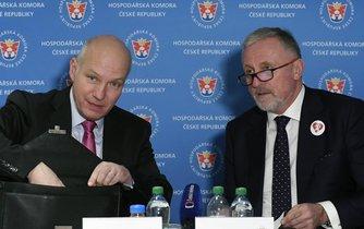 Neúspěšní kandidáti na prezidenta Pavel Fischer a Mirek Topolánek