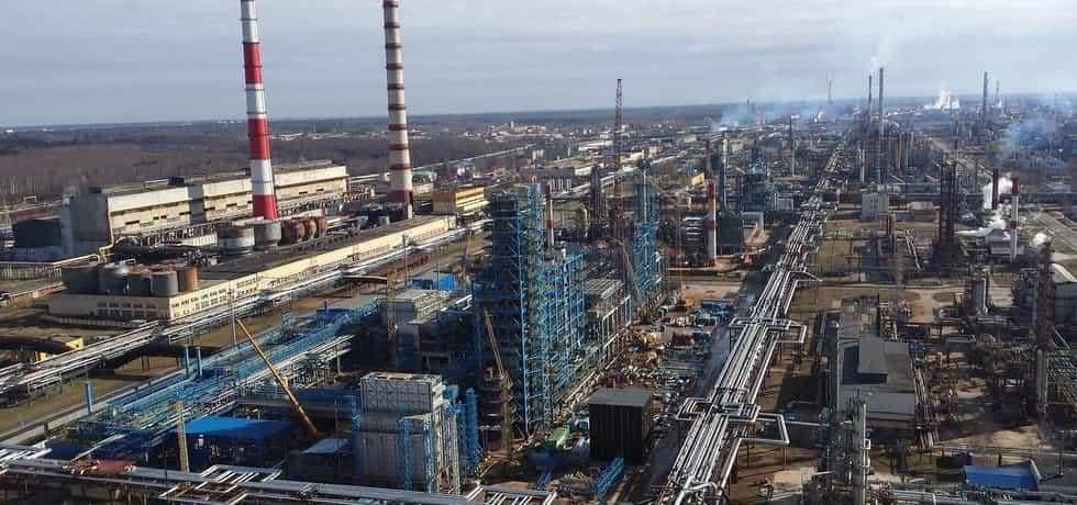 Novopolacká rafinerie Bělorusko