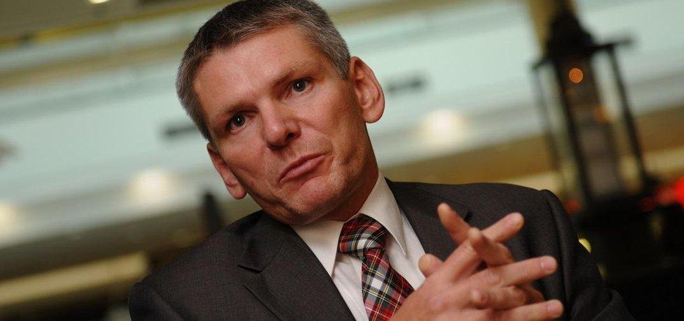 Šéf Asociace obranného a bezpečnostního průmyslu ČR Jiří Hynek