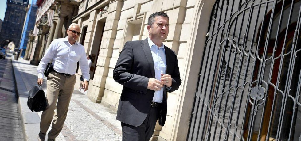 Předseda ČSSD vnitra Jan Hamáček