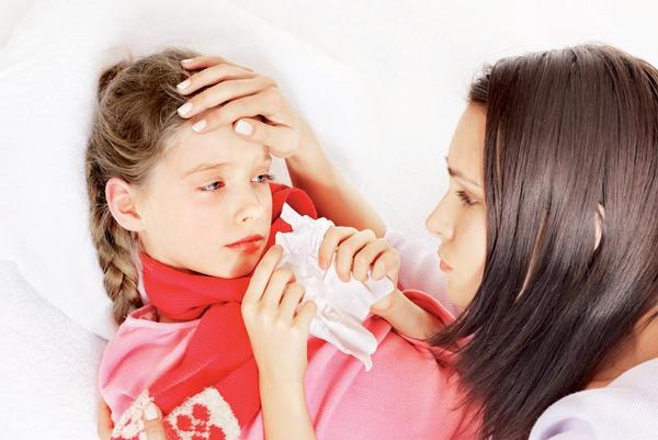 Ilustrační foto; dítě, nemoc, chřipka, nachlazení