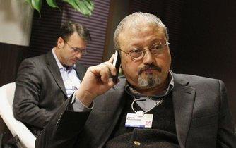 Saúdskoarabský novinář Džamál Chášukdží