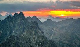 Slavkovský štít ve Vysokých Tatrách