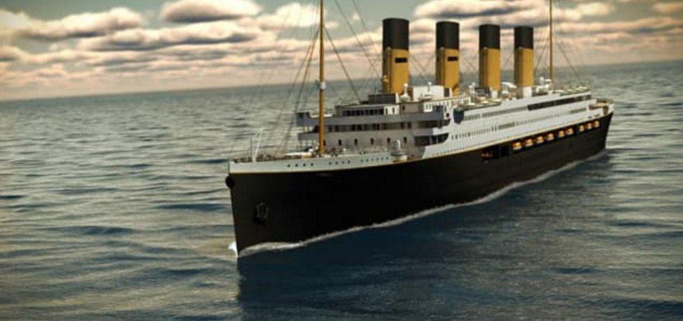 Tak má vypadat replika Titaniku.