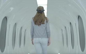 Prototyp kapsle pro pasažéry od společnosti Hyperloop Transportation Technologies