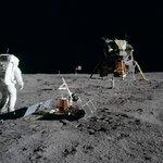 První lidé na Měsíci. Apollo 11 v roce 1969.