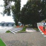 Vizualizace smíchovské náplavky