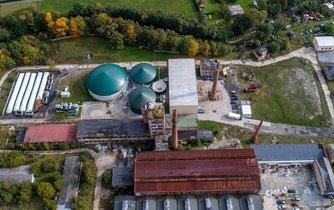 Centrum pro zpracování bioodpadů v Rapotíně na Šumpersku