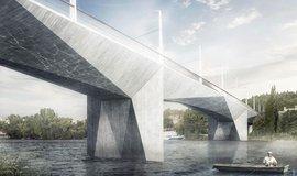 Dvorecký most: vítězný návrh ateliérů Tubes a Atelier 6