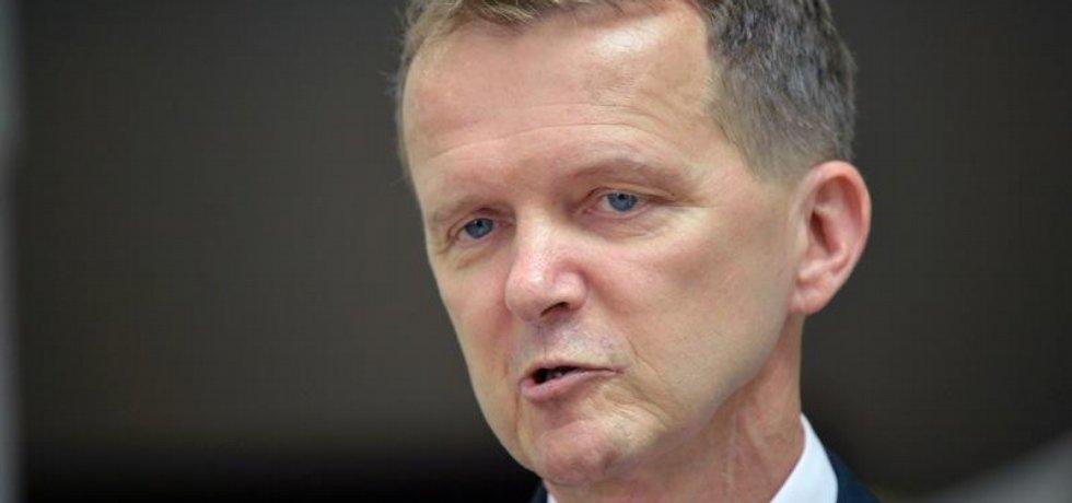 Poslanec Ladislav Šincl (ČSSD).
