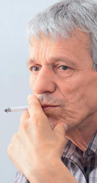 Ilustrační foto; kouření, cigareta