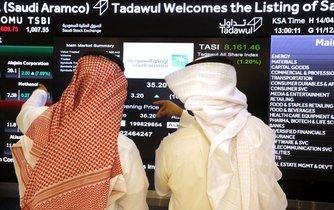 Vstup Saudi Aramco na burzu, ilustrační foto