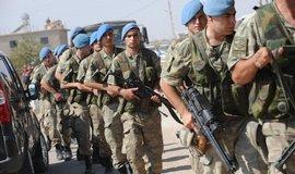 Turečtí vojáci na jihovýchodě země