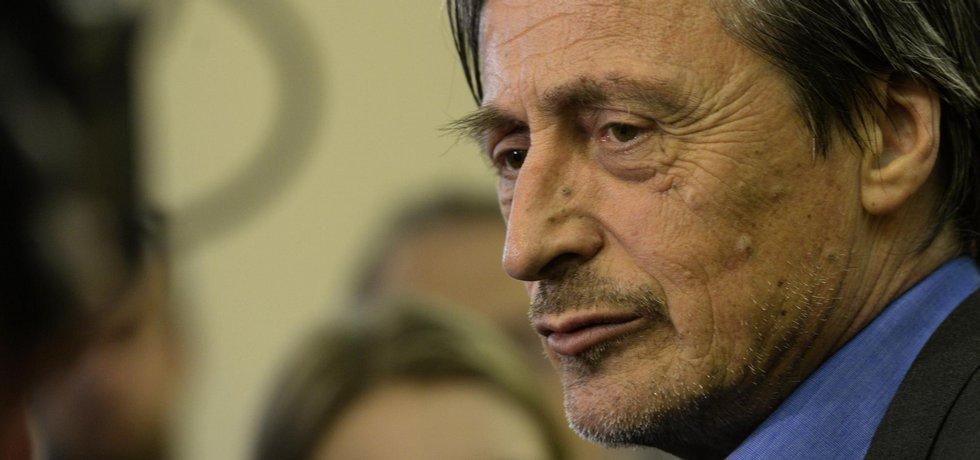 Ministr zahraničí v demisi Martin Stropnický (ANO)
