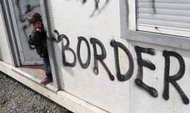 Uprchlický tábor v řeckém Idomeni