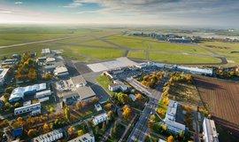 Letiště Václava Havla Praha z ptačí perspektivy