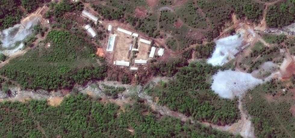 Jaderné testovací centrum v KLDR