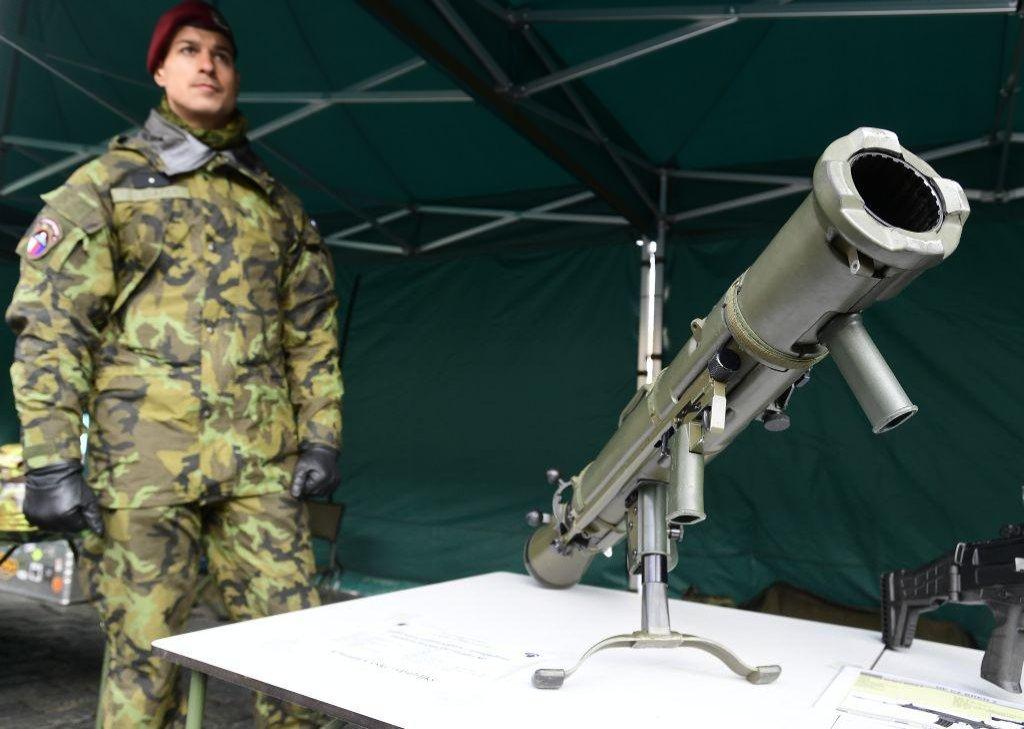 Víceúčelový protipancéřový - protipěchotní zbraňový systém Carl-Gustav M3