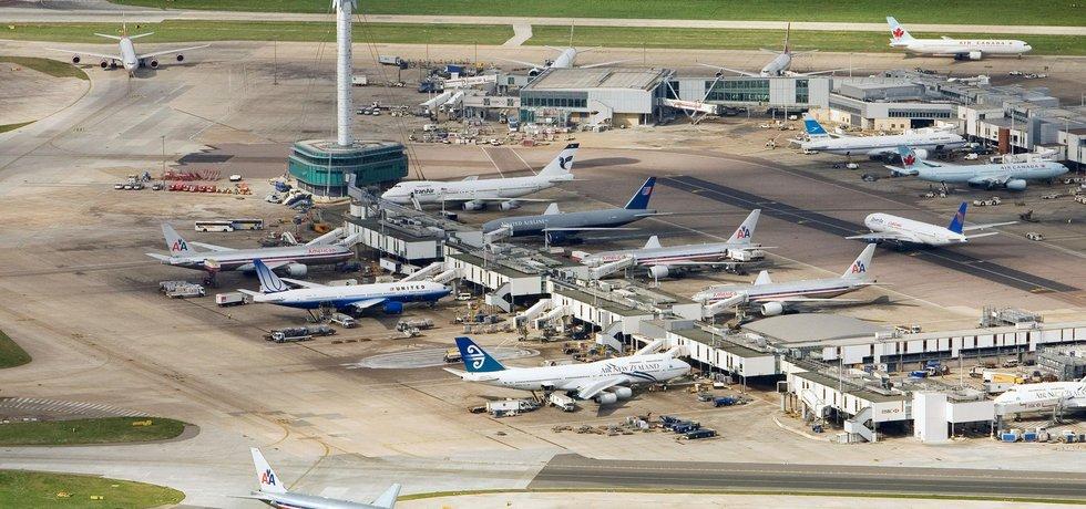 Letiště Heathrow - ilustrační foto