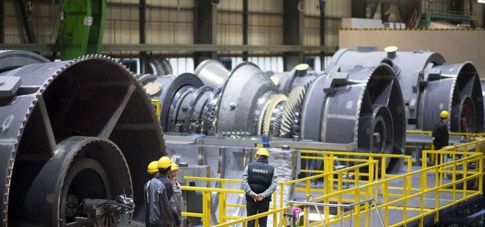 Závod Siemensu na výrobu plynových turbín