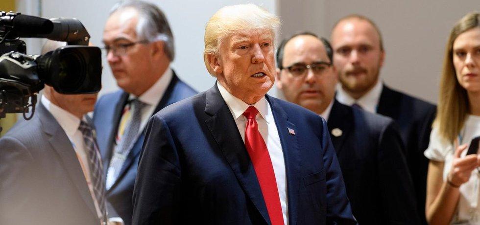 Americký prezident Donald Trump na summitu G20