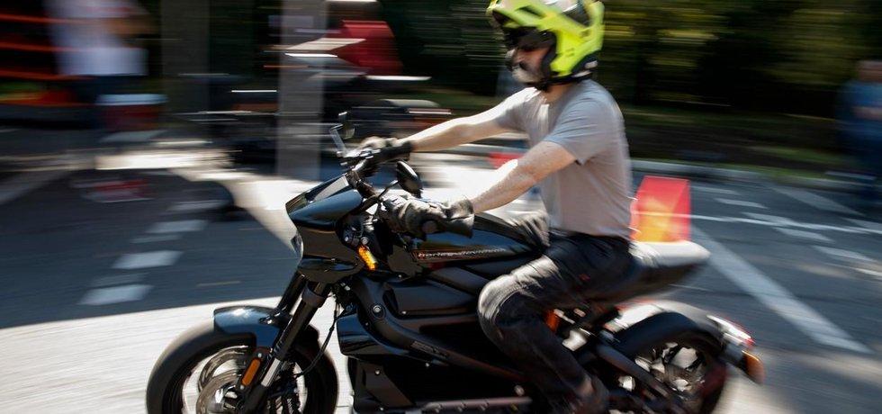 Elektrická motorka Live Wire od Harley-Davidson