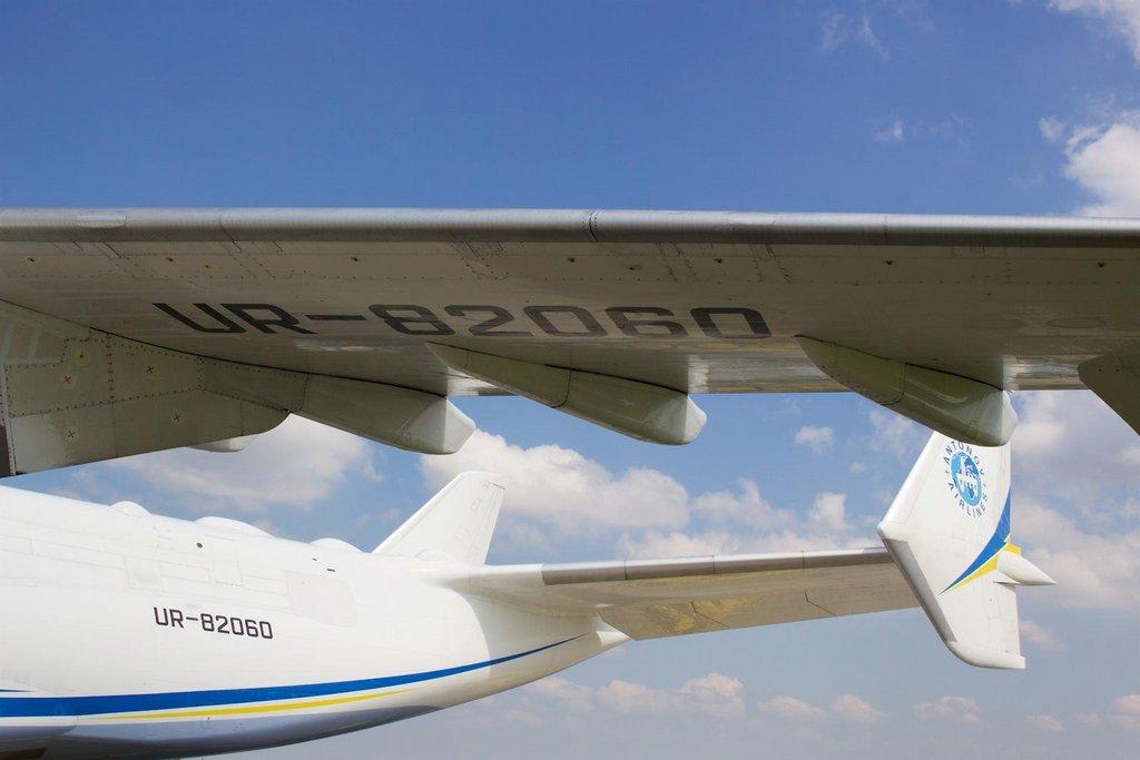 Antonov An-225 v Praze