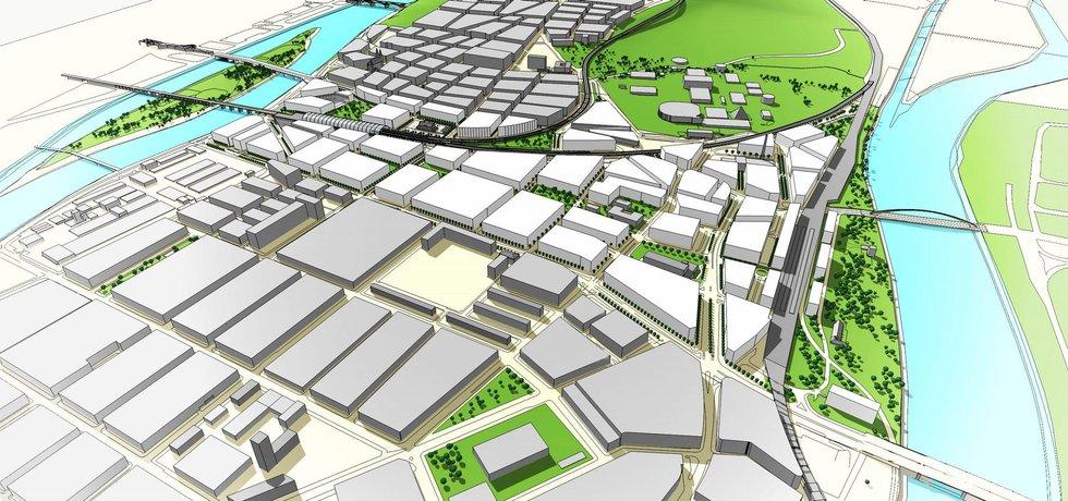 Architekti chtějí z Bubnů živou městskou čtvrť.