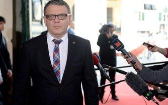 Lubomír Zaorálek, neni pro přerušení rozhovorů. Jediná nepřekročitelná hranice je pro něj trest smrti